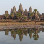 Tempelanlage von Angkor in Kambodscha
