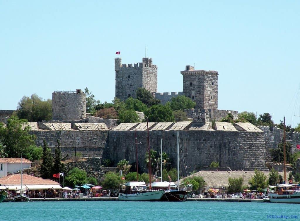 Festung St. Petri am Hafen von Bodrum