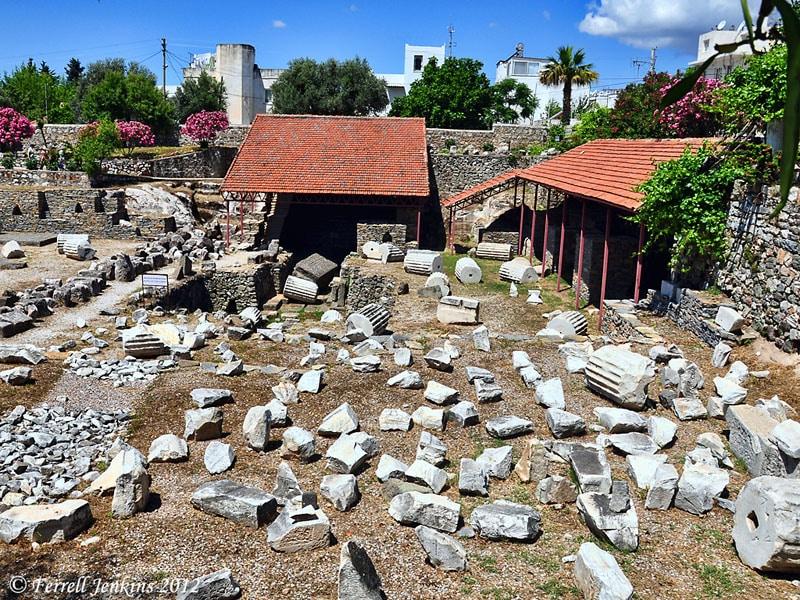 Ruine in Bodrum