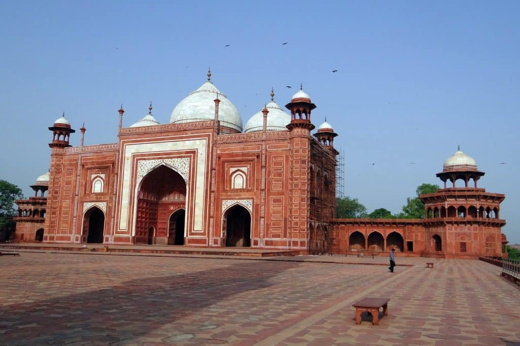 Taj Mahal Moschee