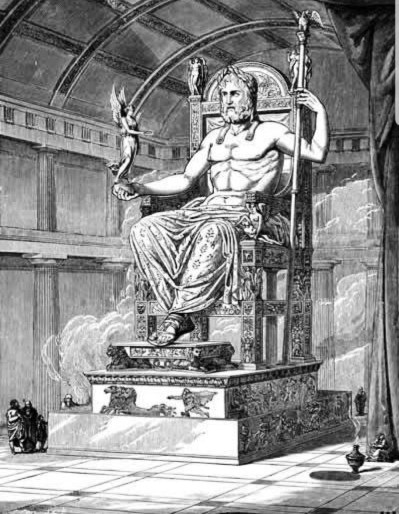 Statue des Zeus